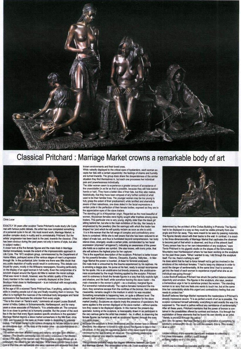 Classical Pritchard (South African Art Times December 07 – Jan 08)