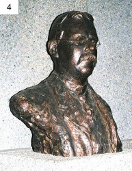 4. Johann Rissik (Founder of Johannesburg) – 1976 for the City Council of Johannesburg