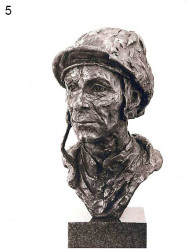 5. The Jockey – 1976 for Roy Kerling Life – size Series of 15